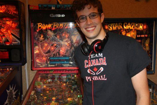 Robert Gagno of Burnaby: real-life pinball wizard